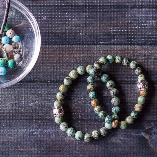 Healing stone bracelets made fun inexpensive and beautiful handmade gifts.