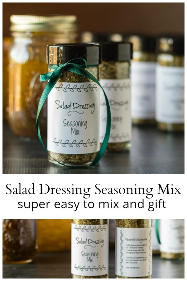 Salad dressing seasoning mix