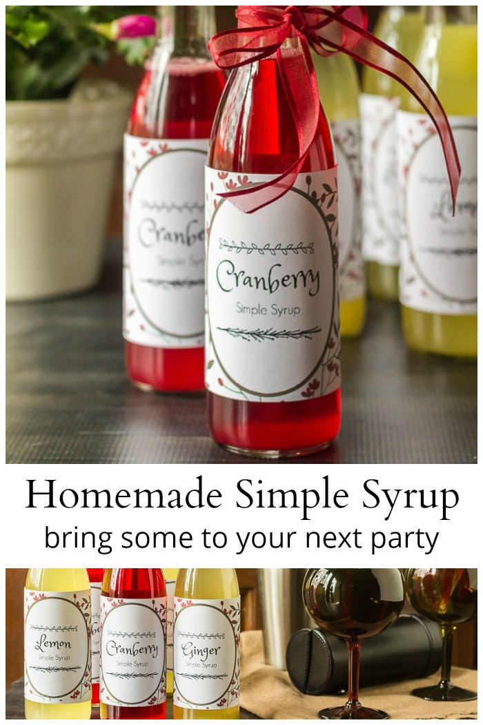 Homemade simple syrup recipes
