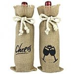Hostess Gifts - Burlap Wine Bags