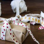 DIY Ribbon – Easily Handmade From Drop Cloth Fabric