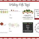 Printable Christmas Gift Tags: Free Downloads You Can Use Today