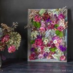 Framed Dried Flowers Makes an Amazing Piece of Art