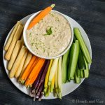 Thai bean dip for a healthy and tasty snack.