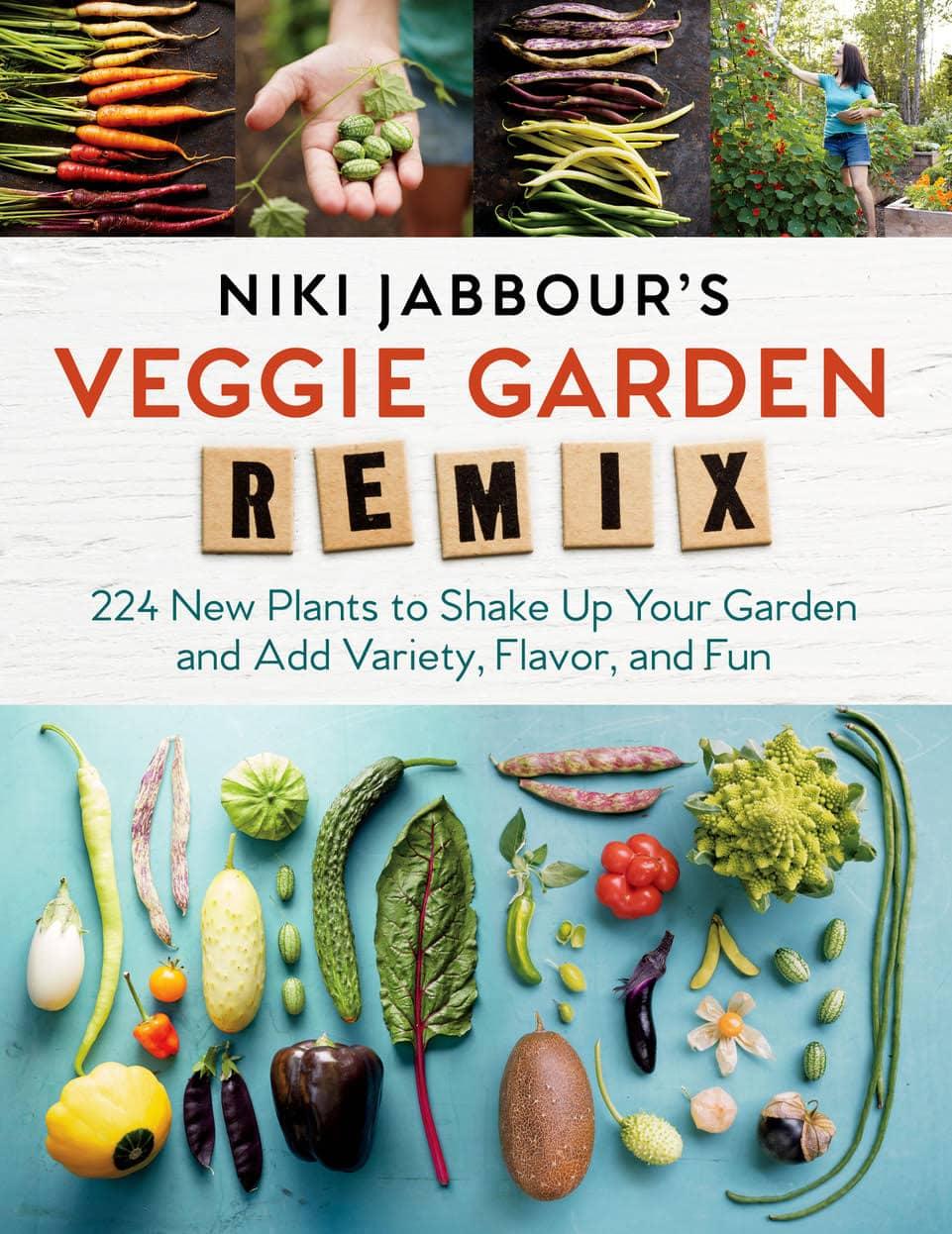 Veggie Garden Remix Book Cover