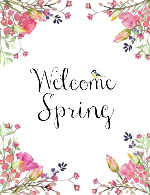 Welcome Spring Portrait