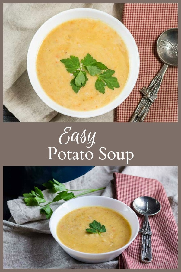 potato soup collage
