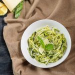 Lemon Parmesan zoodles
