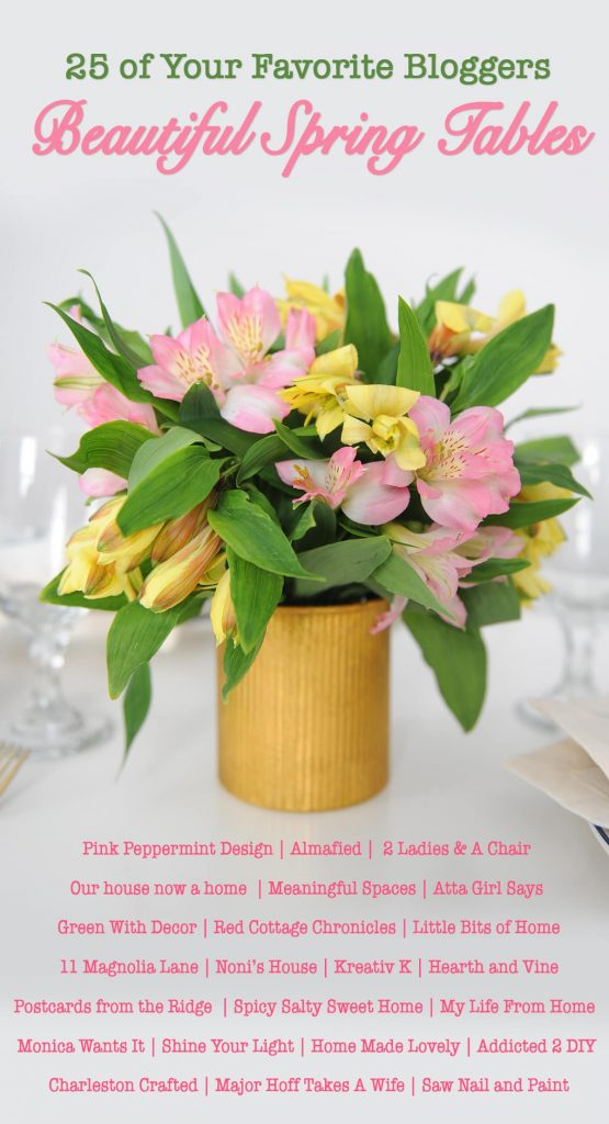 Spring tablescapes blog hop