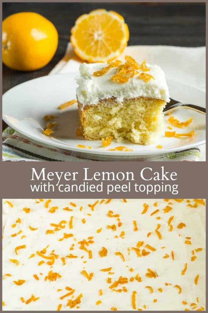 meyer lemon sheet cake