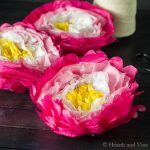 Make A Paper Flower Garland – For Festive Colorful Party Decor