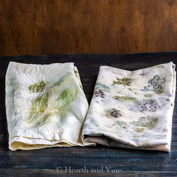 Eco Printing- A Fun Way to Create Beautiful Fabric with Nature