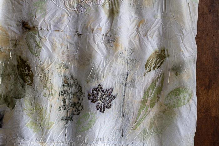 silk eco printing reveal