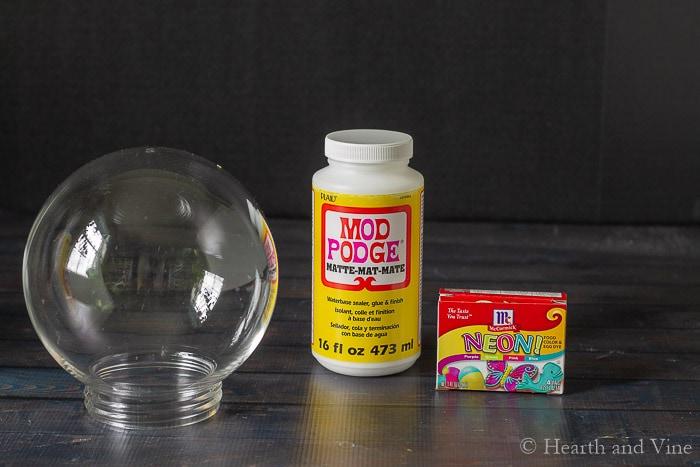 Gazing balls supplies