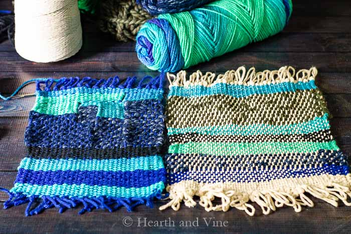 Weaving loom projects
