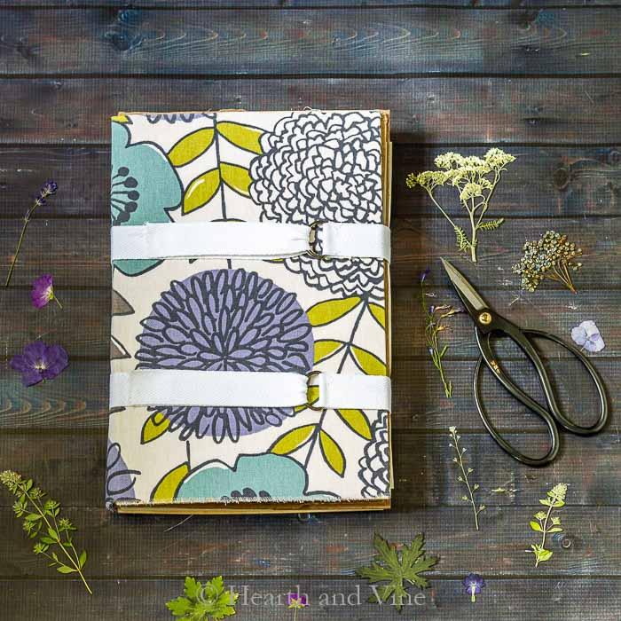 Flower press travel book