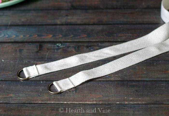D ring straps