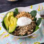 Healthy and delicious power grain bowls