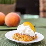 Fresh Peach Dump Cake Made With 5 Simple Ingredients