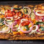 Grilled Vegetable Tart – Perfect For Your Next Gathering