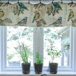 How To Make a Kitchen Window Valance in Under an Hour
