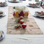 Natural Fall Centerpiece and Table Decoration Ideas