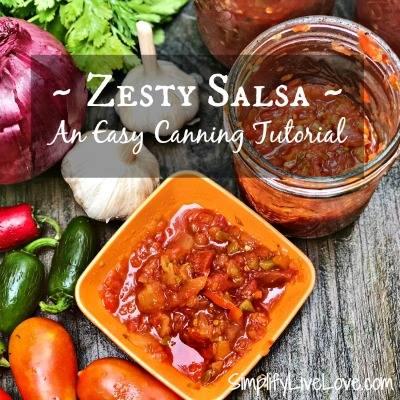Zesty Salsa Canning