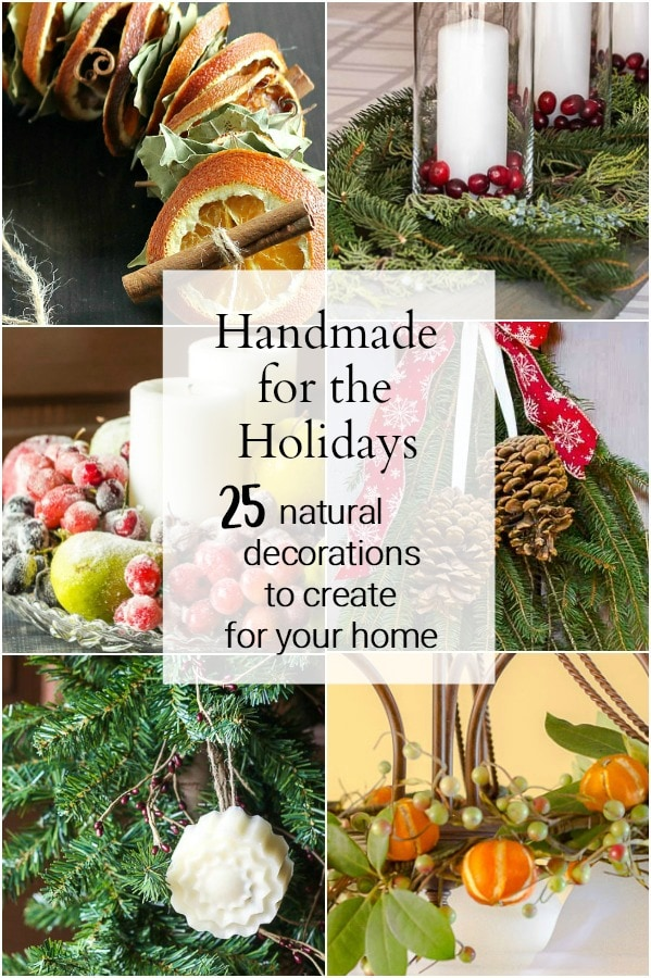 Handmade for the holidays collage