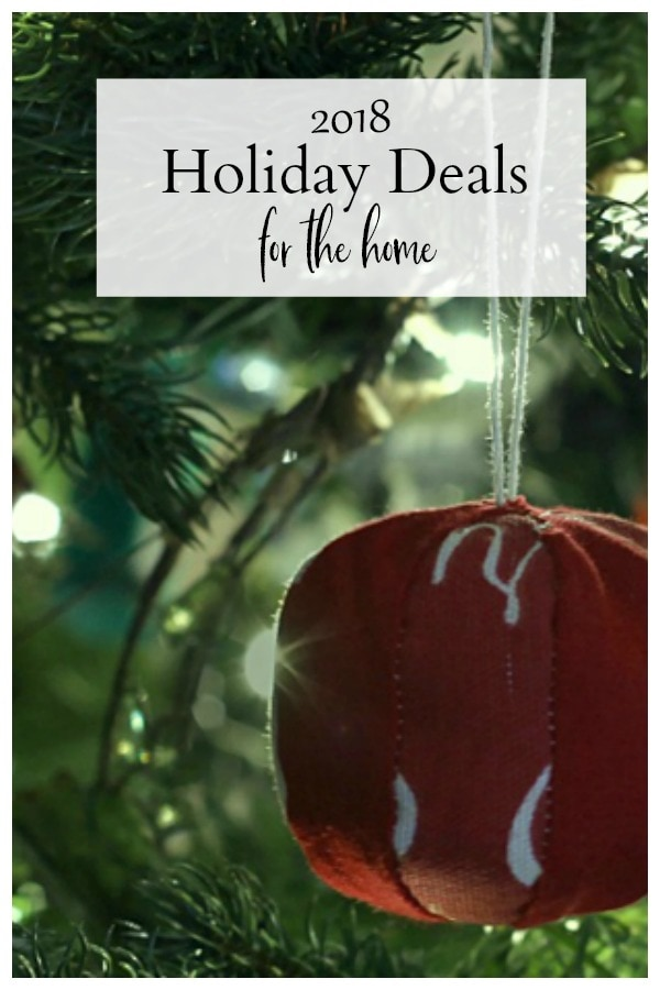 Holiday deals for the home 2018