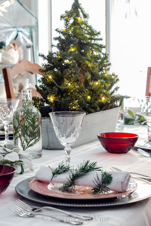 Christmas table decorations 2018