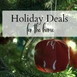 Holiday deals for the home banner