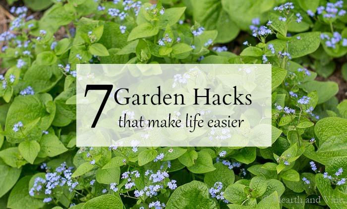 7 Gardening hacks image