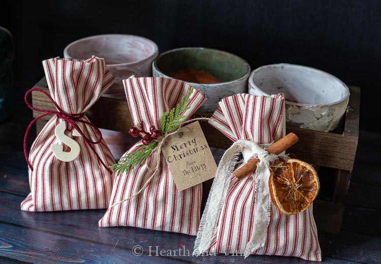 Christmas treat bags three ways