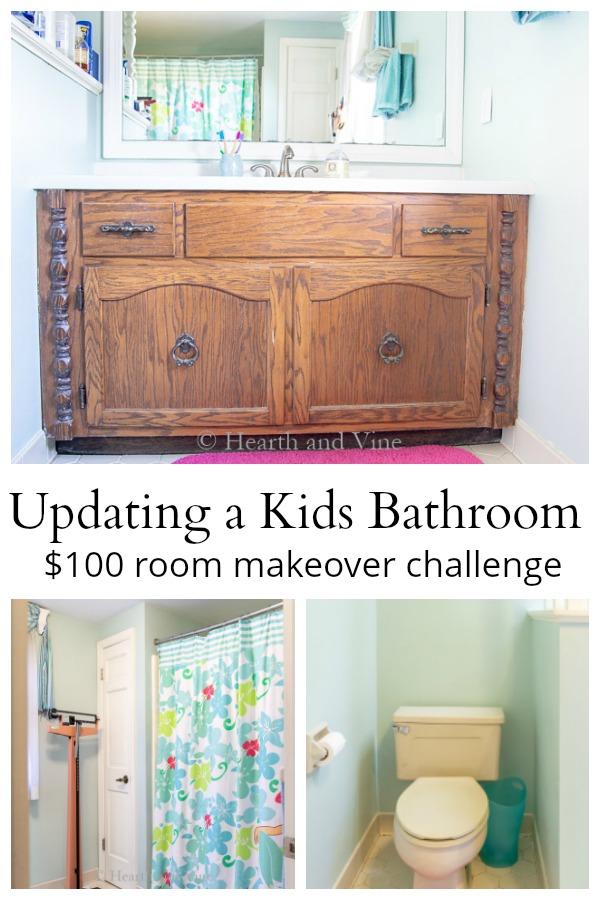 Budget bathroom makeover ideas