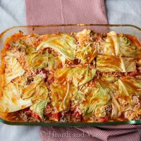 Stuffed Cabbage Roll Casserole