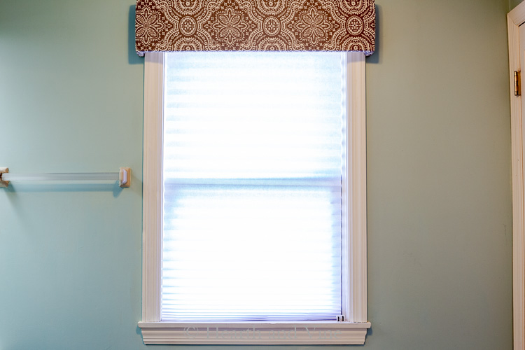 Privacy blinds in window