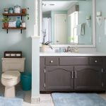 Budget Bathroom Makeover Reveal – $100 Room Challenge