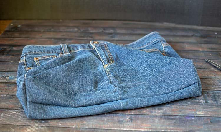 Basic jean bag
