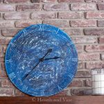 Salt paint clock project