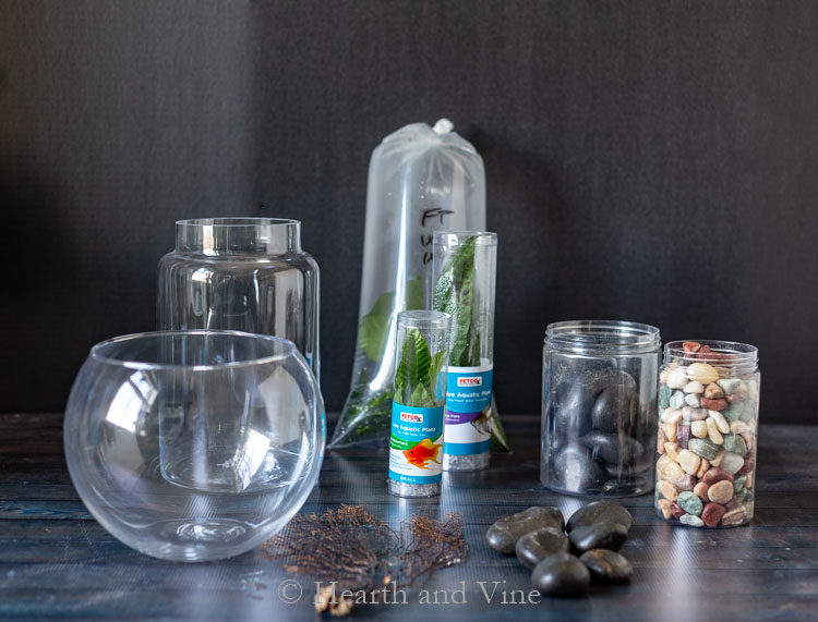 Indoor water garden supplies