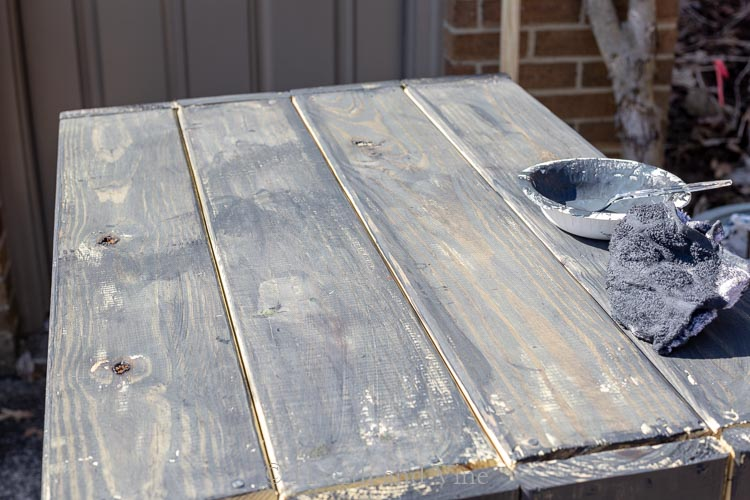 Paint on wood frame