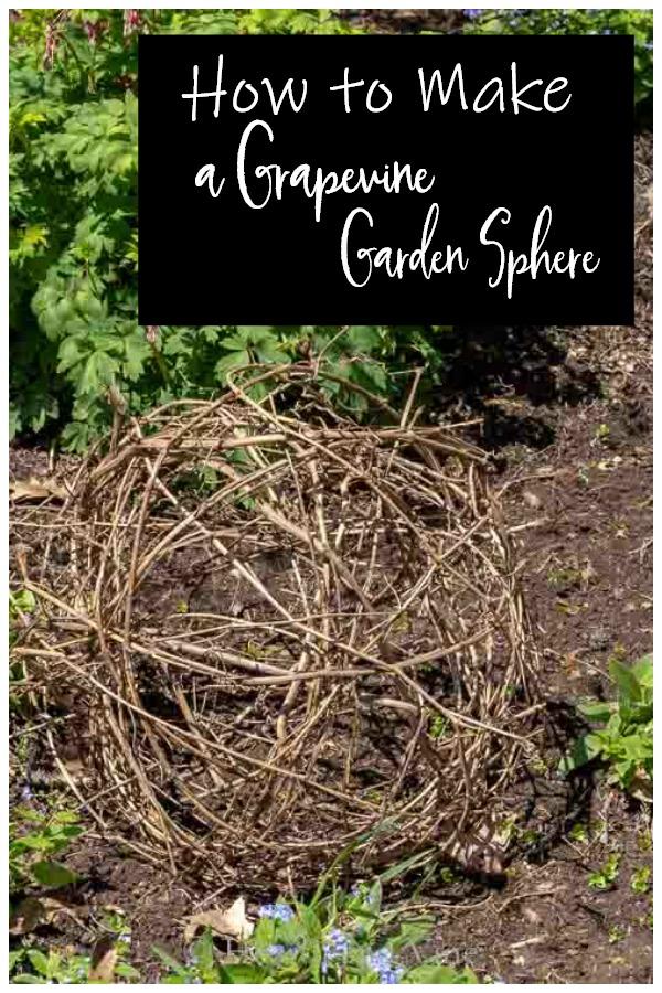 Grapevine garden shere