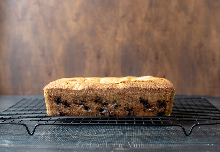 Blueberry Muffin Cake from side