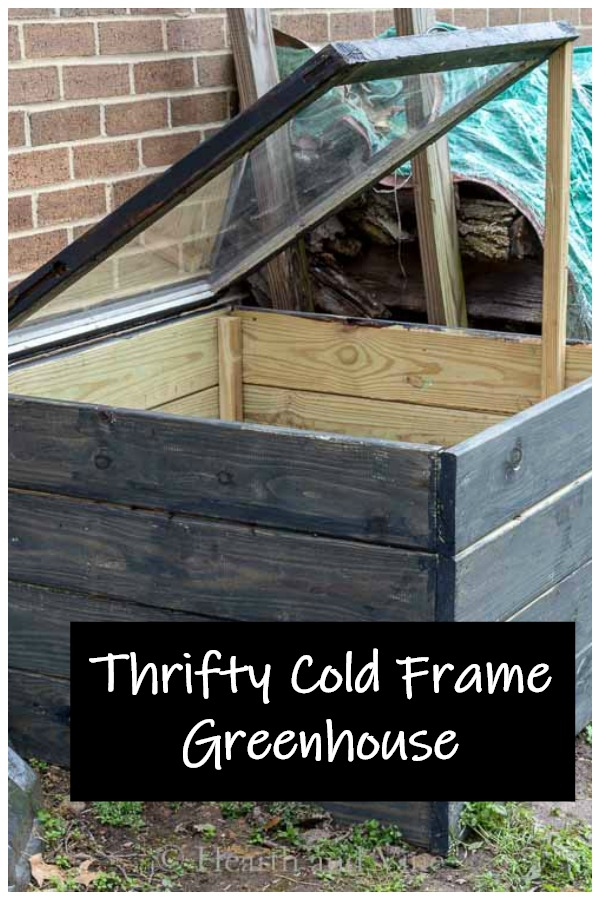 DIY cold frame
