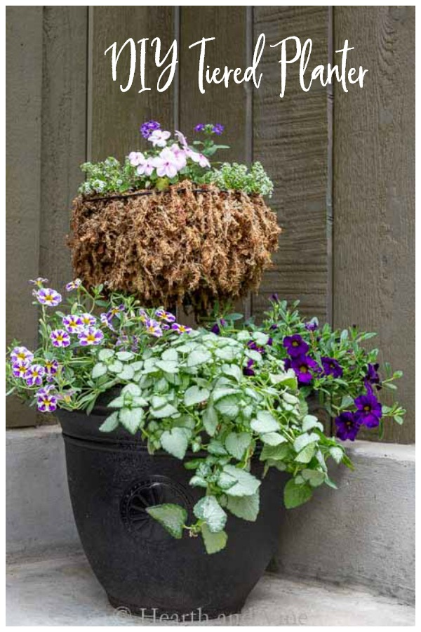 Two Tiered Planter for Flowers