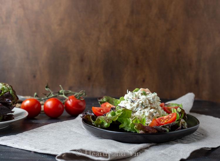 Crab and shrimp salad
