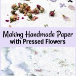 Pressed Flowers Handmade Paper