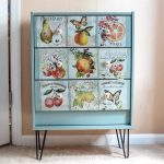 Decorated dresser