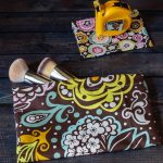 Snap bags for makeup brushes
