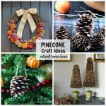 Pine cone crafts for the home